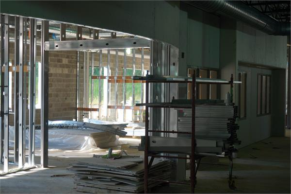 Main floor of elementary wing